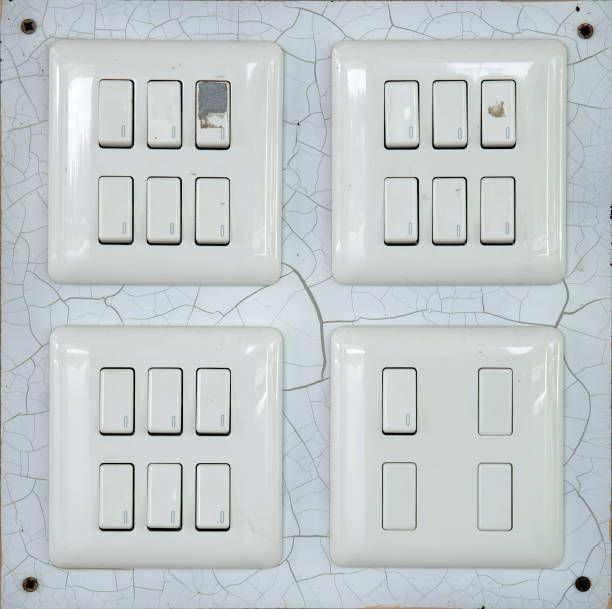 light switch button control