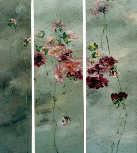 les merveilleuses peintures de claire basler flowers in. Black Bedroom Furniture Sets. Home Design Ideas