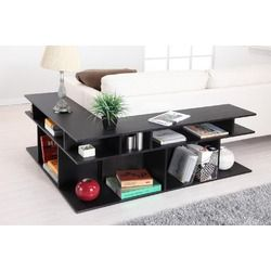 Zara sofa table in black, $139