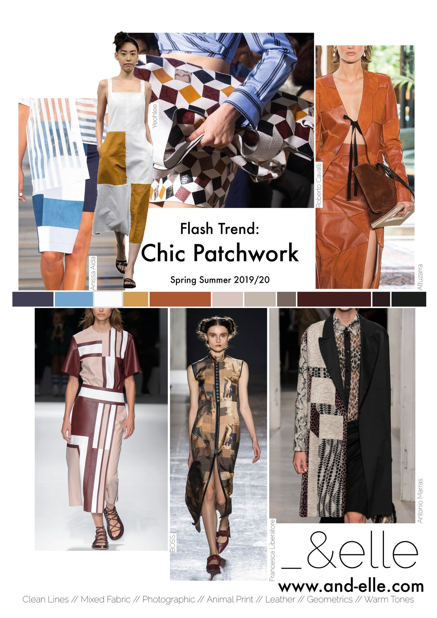 Trend Report SS19 Print Design Patchwork Chic | mimi in 2019