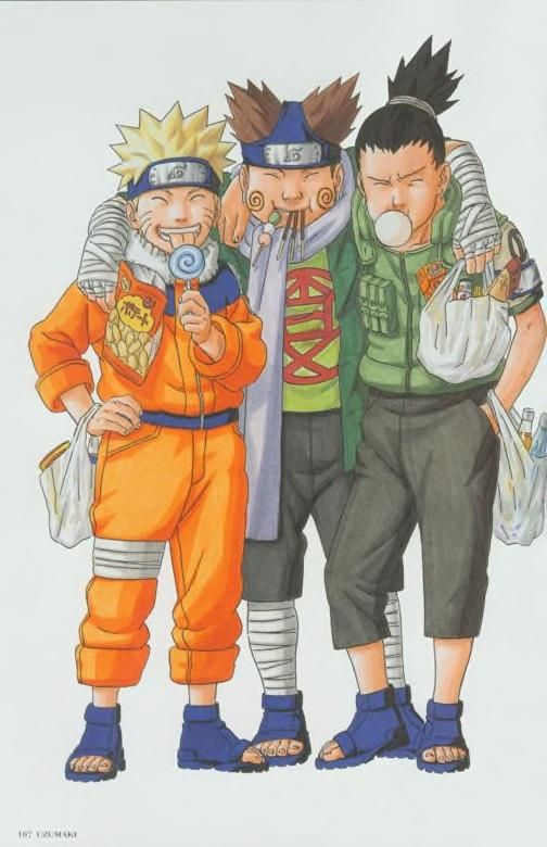 Naruto artbook : Free Download, Borrow, and Streaming : Internet Archive
