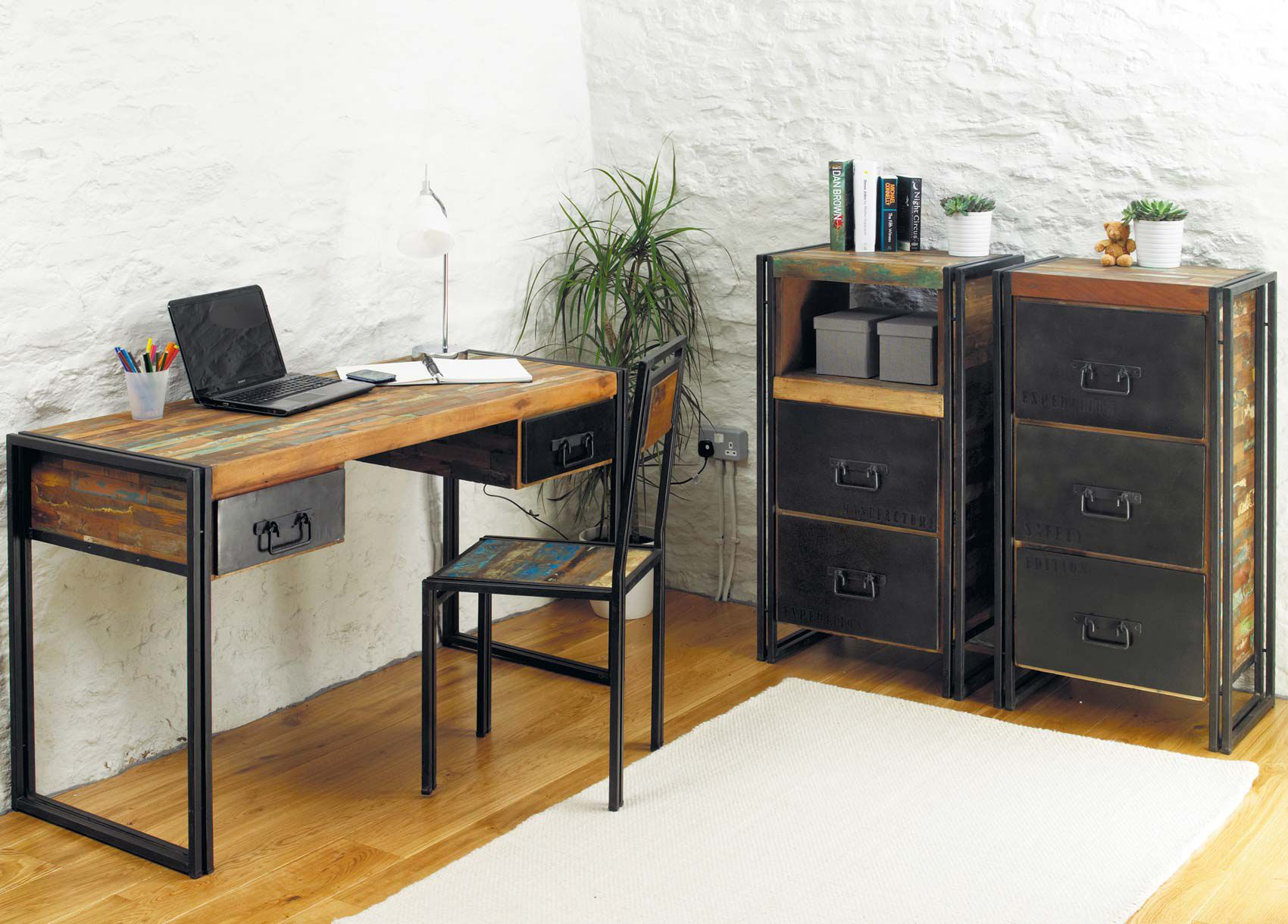 Chic office furniture Home Office Image Of Industrial Chic Furniture Pieces Pinterest Image Of Industrial Chic Furniture Pieces Furniture Pinterest