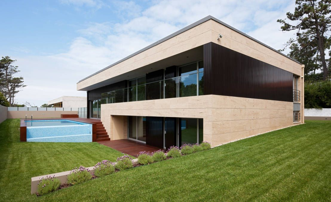 Modernes Einfamilienhaus mit Pool | Pools, Inspiration and Haus