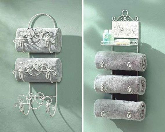 Unique Bathroom Towel Racks STAMERICANSOLAR Content Bathroom - Decorative towel racks for bathrooms for small bathroom ideas