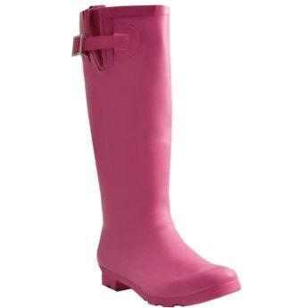 #Capelli Womens Fisherman Pink Rain Boot