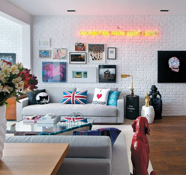 Cool living room with great styling New house ideas Pinterest