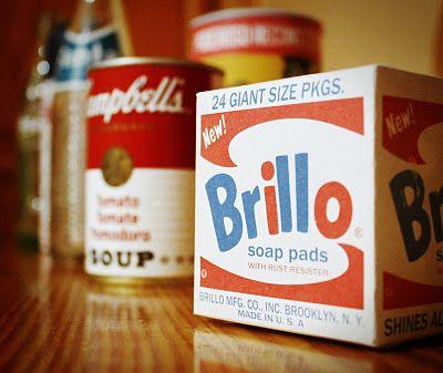 My own Brillo box.