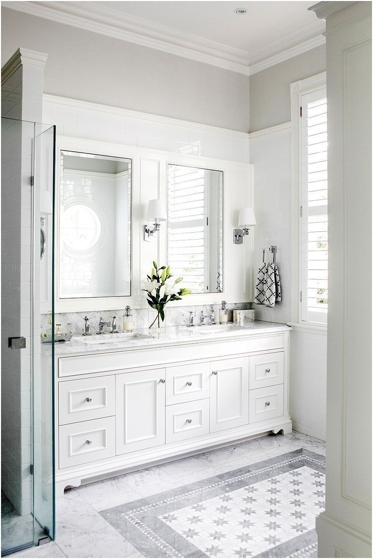 25 best white bathroom cabinets ideas on pinterest master bath from ...