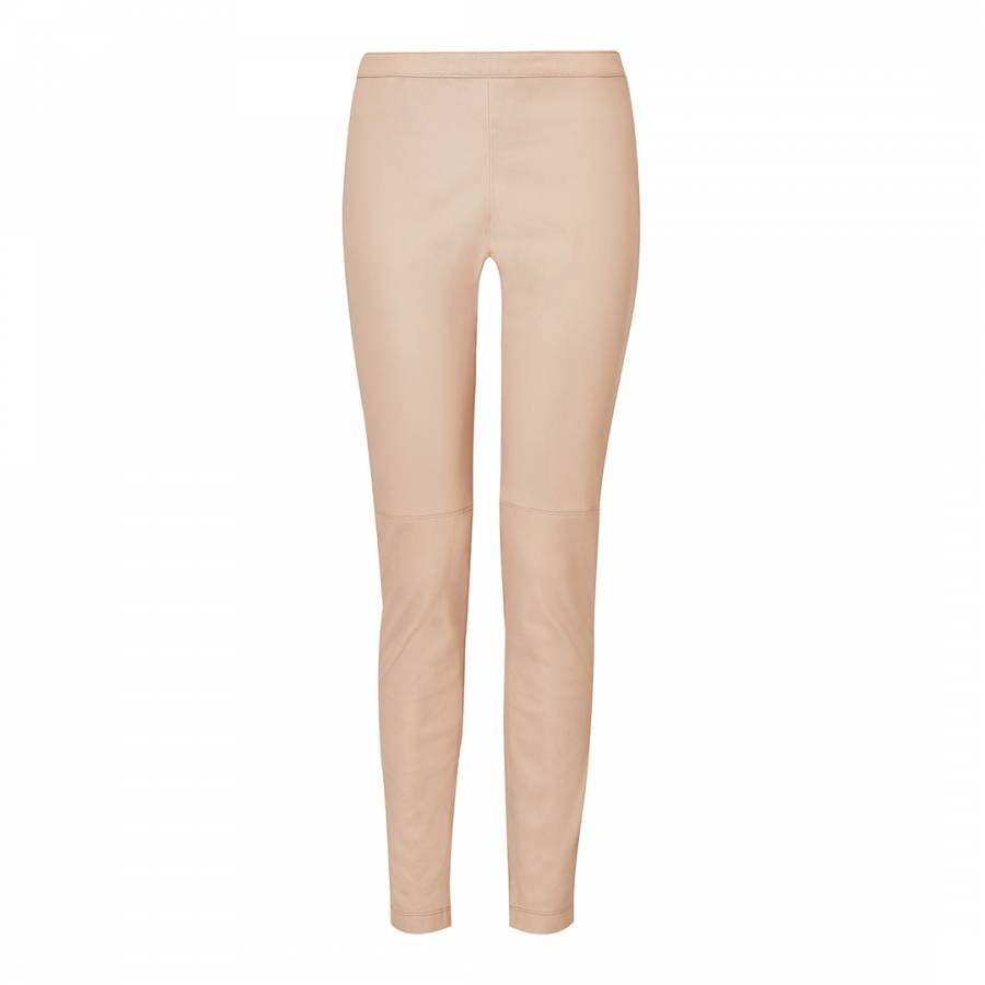 9eaea877d17e42 L K Bennett Powder Pink Leather Trousers in 2019 | Products ...
