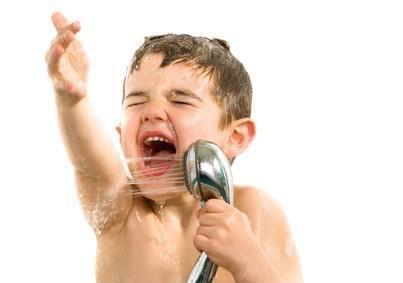 Even Kids Sing In The Shower Kids Singing Plumbing Emergency