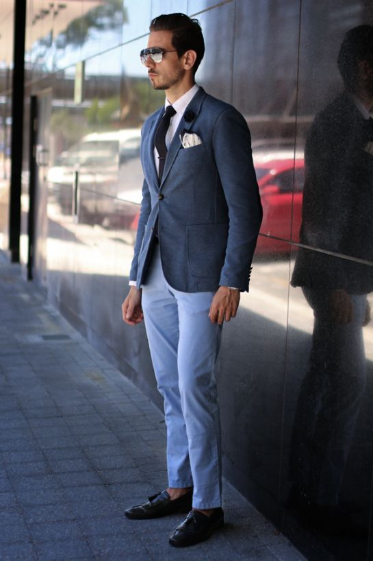Light Blue Chino Navy Google Search Men S Fashion In 2019 Blue