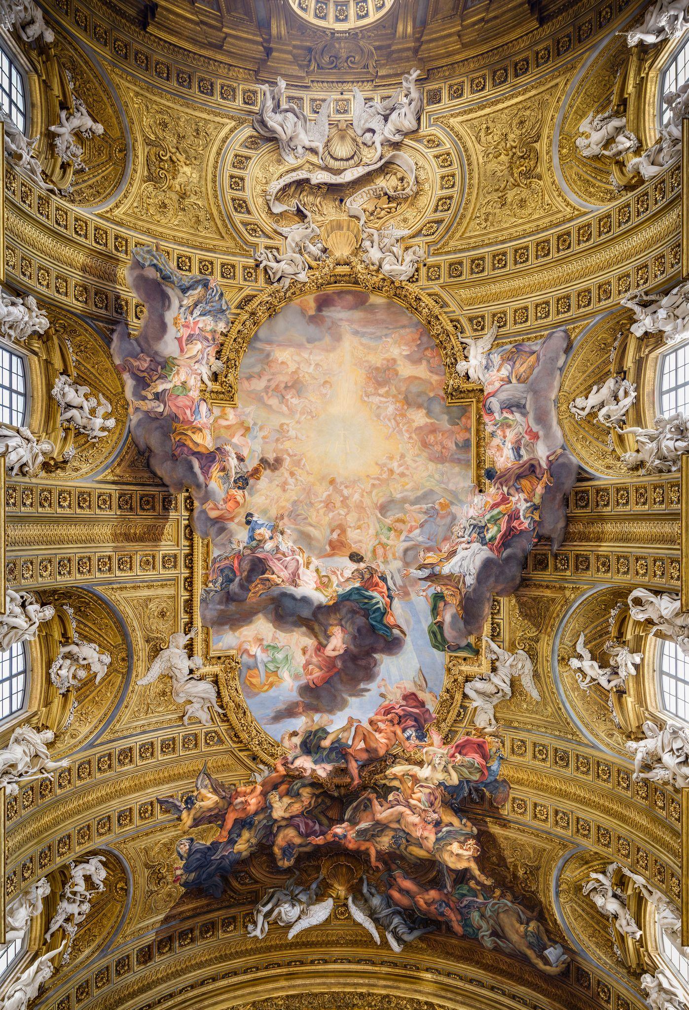 Giovanni battista gaulli dit il baciccio g nes 1639 for Baroque italien
