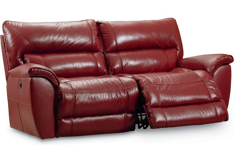 This Lane Double Reclining Sofa Features Upgraded Pocketed Coil Seats And Power Recliners The Cylindrica Living Room Recliner Reclining Sofa Lane Furniture