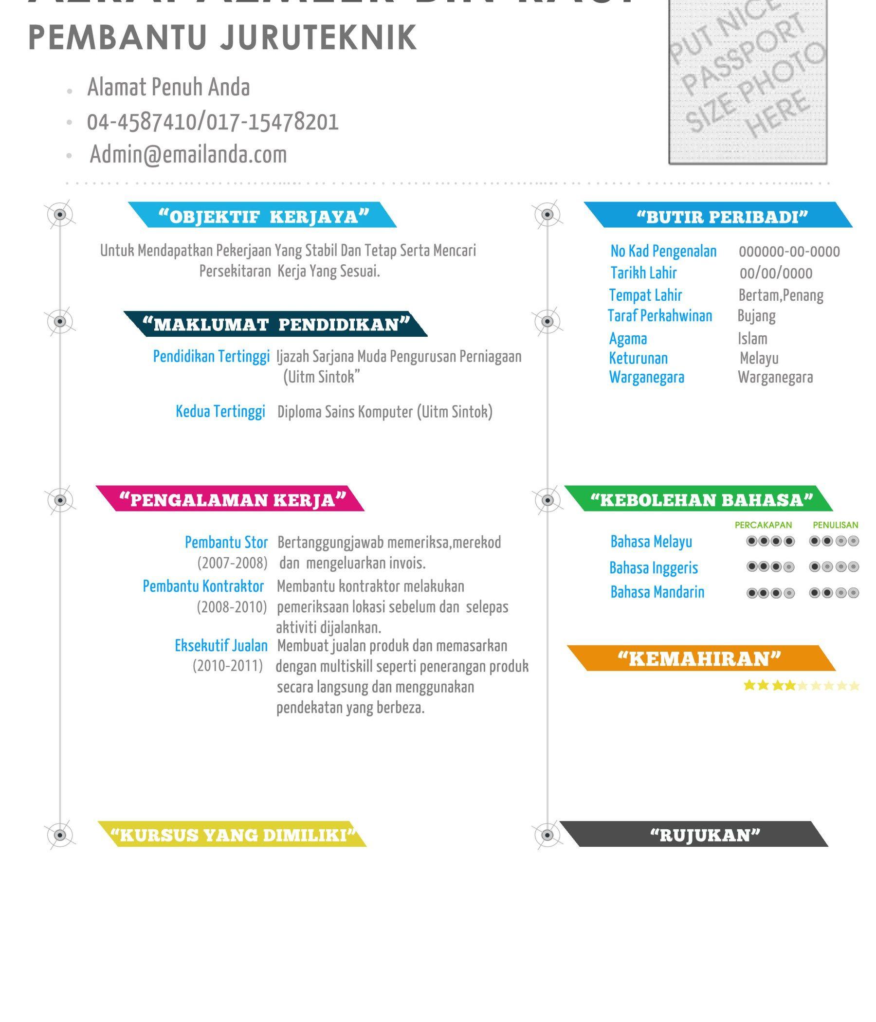 contoh resume white rainbow resume bm pinterest white rainbow