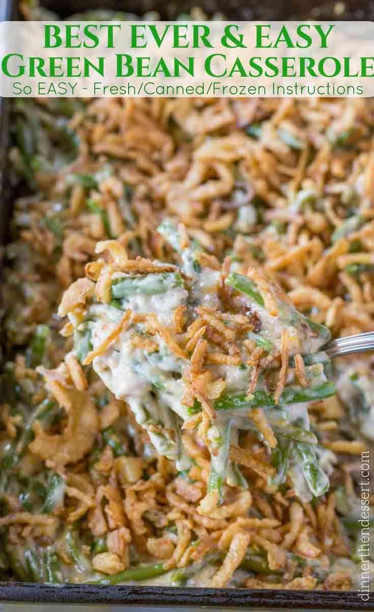 Green Bean Casserole - Dinner, then Dessert