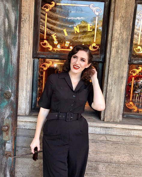 ed6447631d9a Everyone loves a jumpsuit especially when its 25% off in our Black Friday  sales with code BF25 !  damfino  collectifclothing  collectif  vintage   retro ...