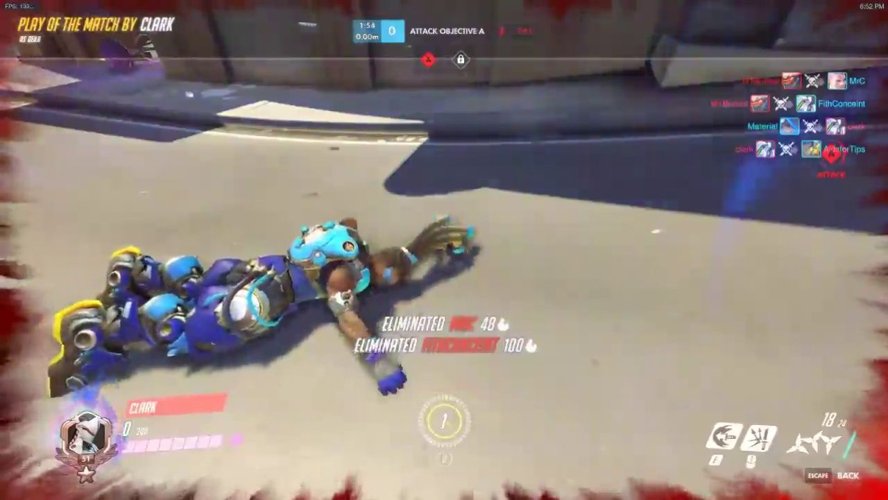 When the beat don't stop  #Overwatch #gaming #game #games #videogame #videogames #lol #funny #comedy #music #dance #dancing #TVGM #gamingmoments