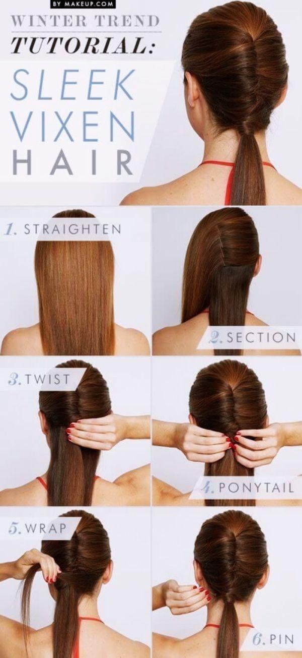 40 Quick Self Do Hairstyles For Working Moms Frisuren Frisuren Langhaar Lange Haare