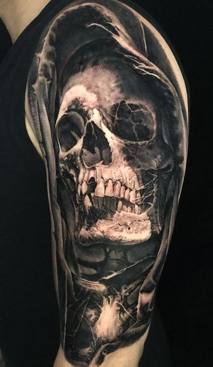 110 Unique Grim Reaper Tattoos You'll Need to See