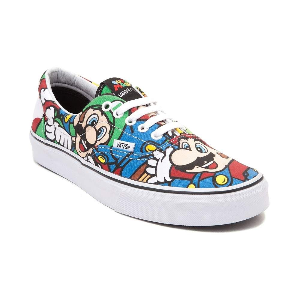 Nintendo and Vans Era Mario and Friends Skate Shoe SIZE MENS 95WOMENS 11