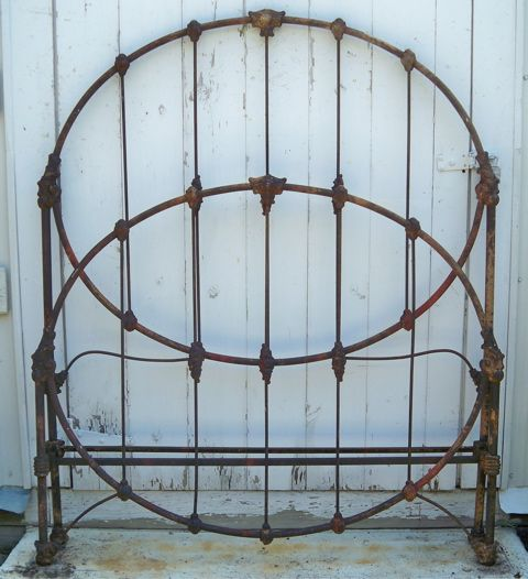 iron headboard iron beds 6 iron iron bedsantique ironantique
