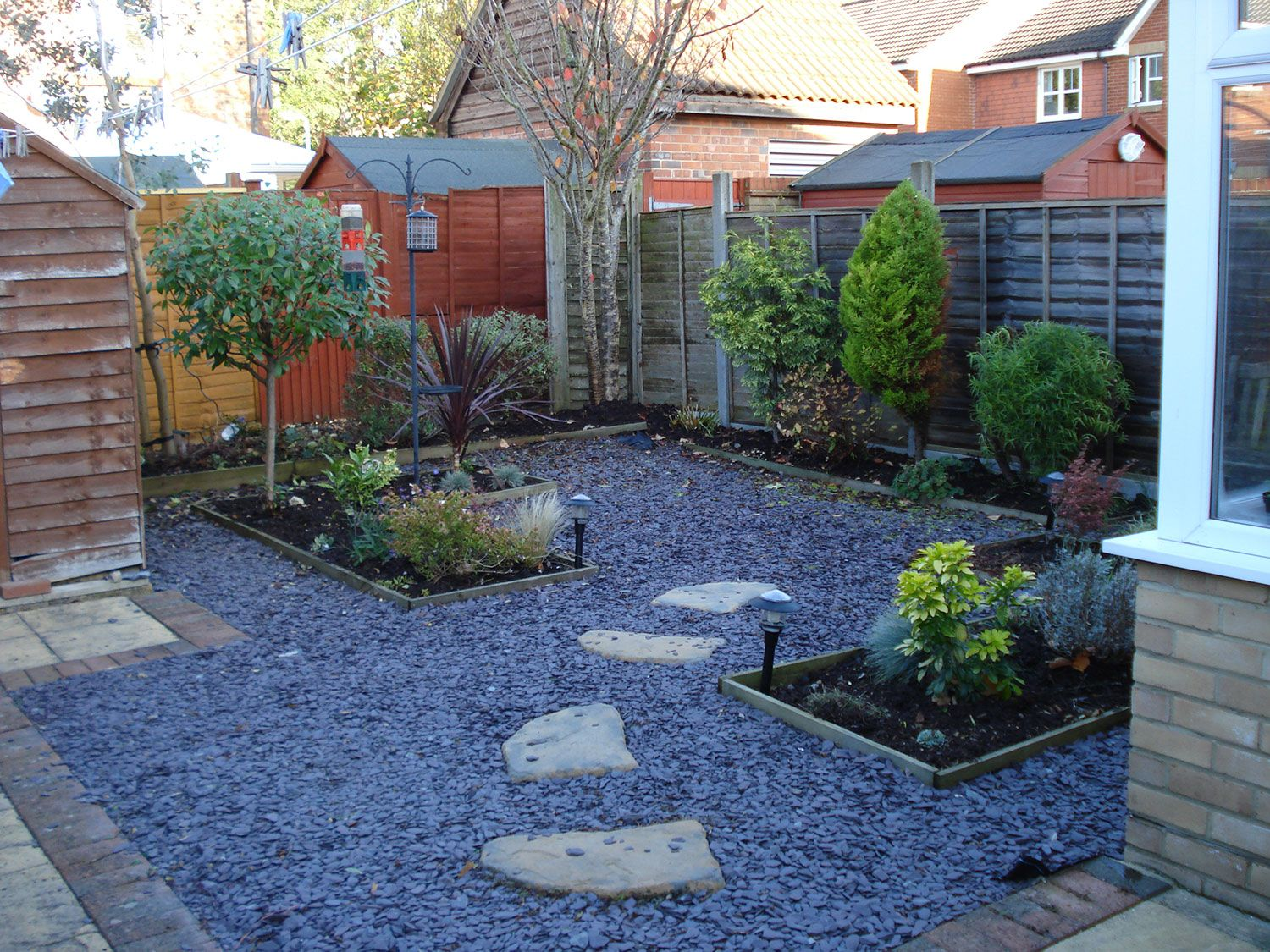 Beautify Your Outdoor Space With Some Stunning Courtyard Landscaping Easy Backyard Landscaping Backyard Landscaping Designs No Grass Backyard Modern garden ideas no grass