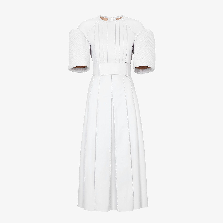 White Leather Dress Dress Fendi Fendi Online Store White Leather Dress Fendi Dress Dresses [ 1500 x 1500 Pixel ]