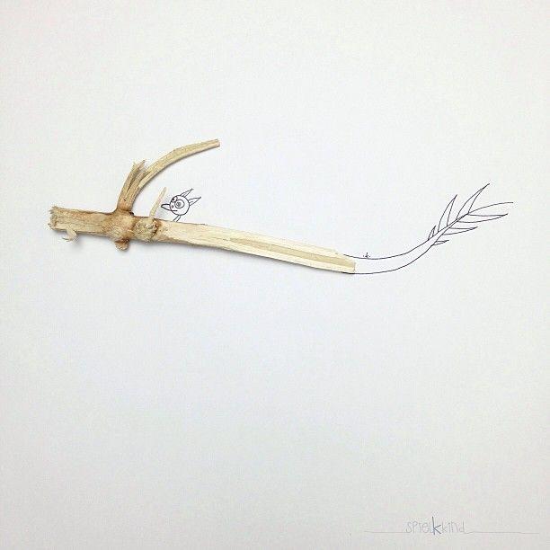 Khiesti combina la foto, ilustración y los objetos en sus ingeniosas imágenes - Antidepresivo