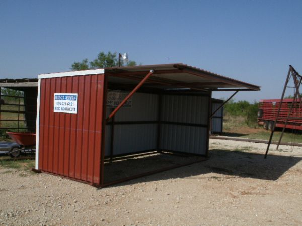 Easy Portable Shelters : Quick sheds portable livestock shelters abilene tx