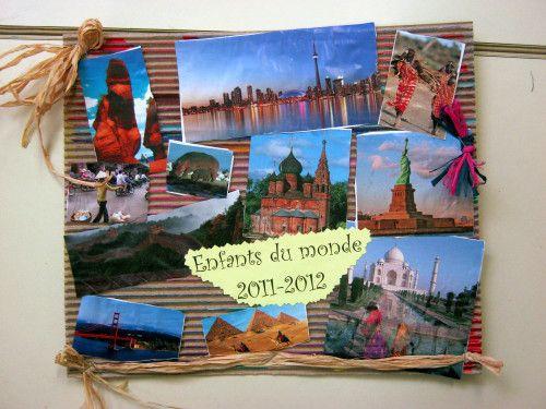 """Bien-aimé Arts plastiques : découpage - collage autour d'un projet """"enfants  LO19"""