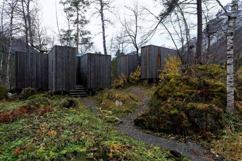 juvet landscape hotel in norway architects jensen skodvin architects architecture allure. Black Bedroom Furniture Sets. Home Design Ideas