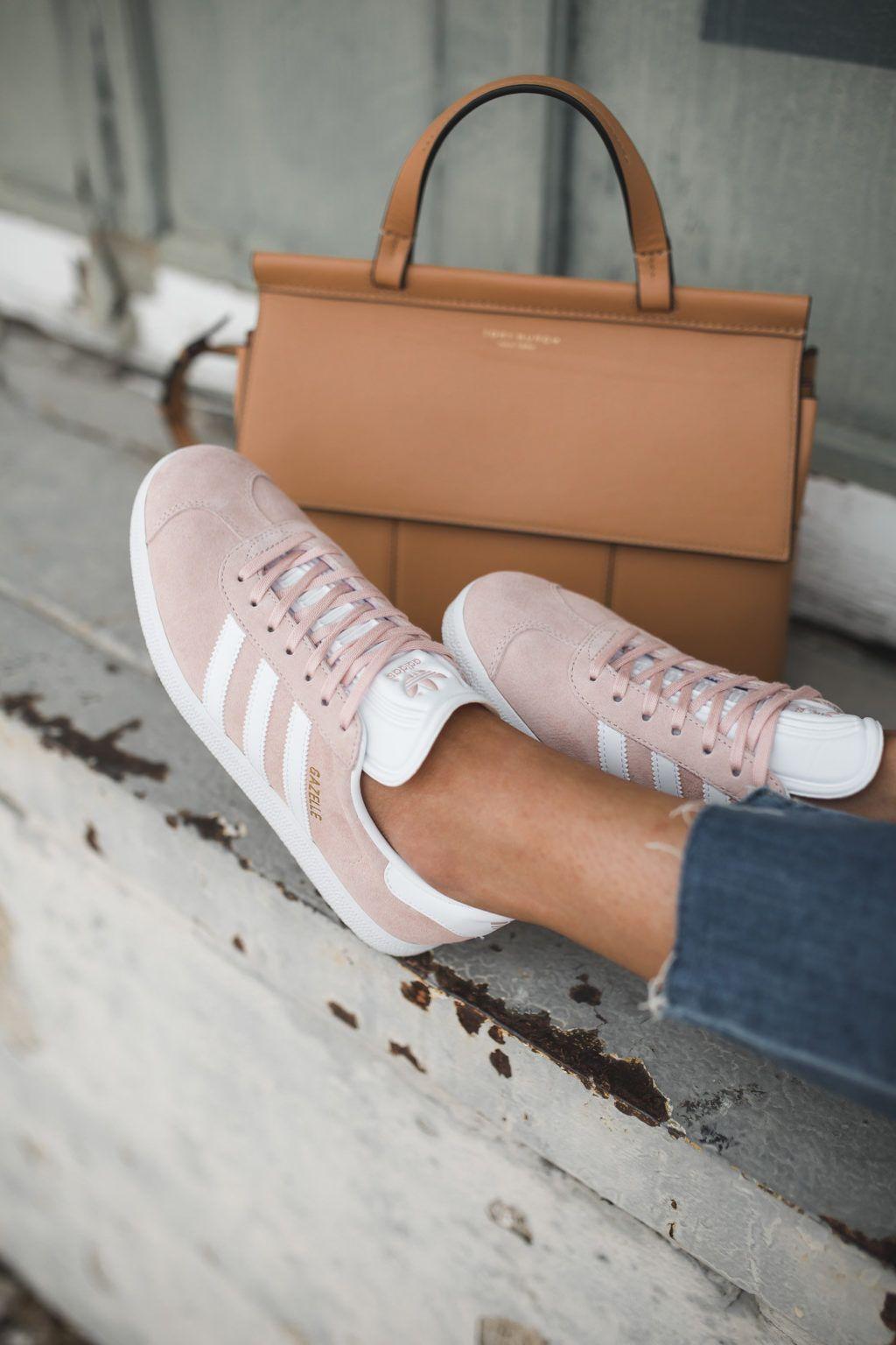 How I Style my Adidas Gazelle Sneakers Schoenen en Mode