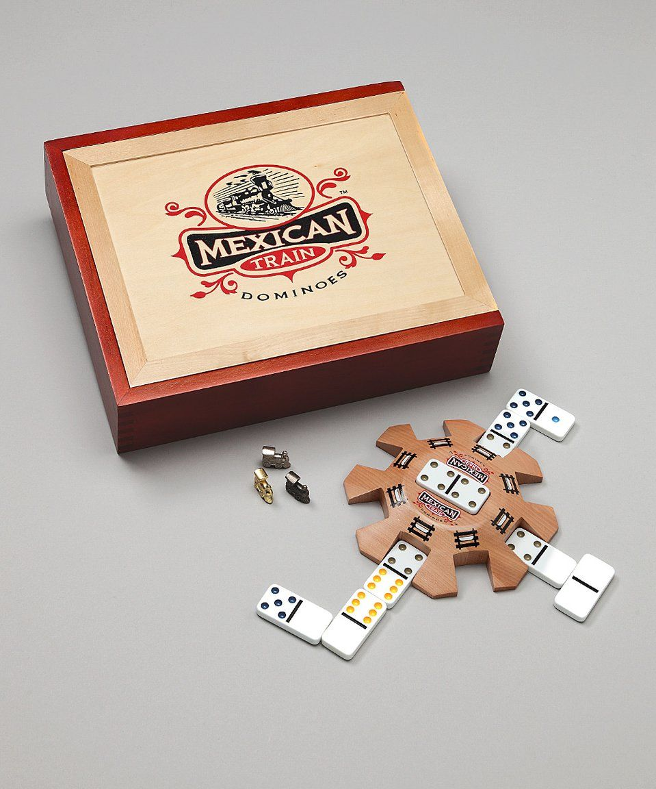Take a look at this Mexican Train Dominoes Game today