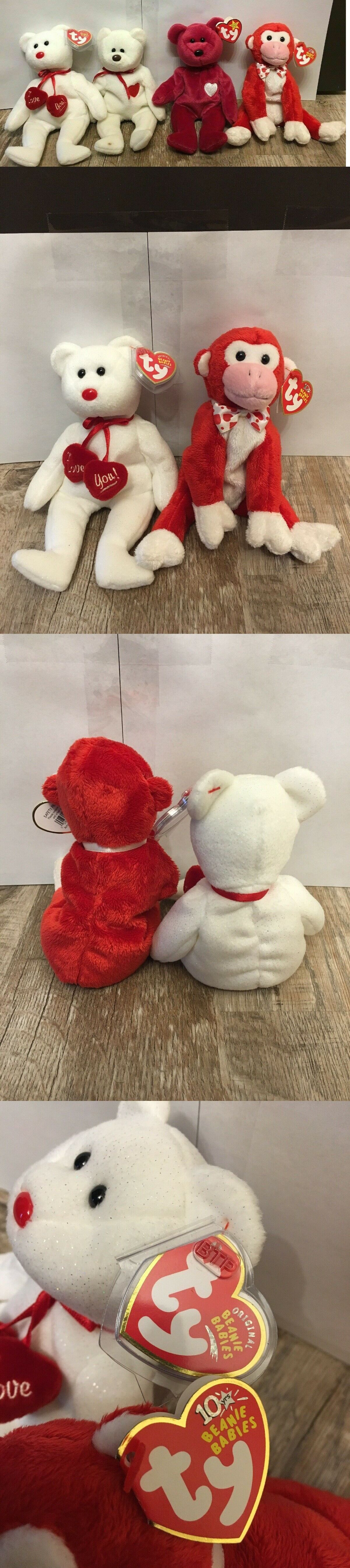 b299691c375 Retired 440  Beanie Babies Lot Rare Valentino Valentines Decade  Collectibles Vintage Bears -  BUY