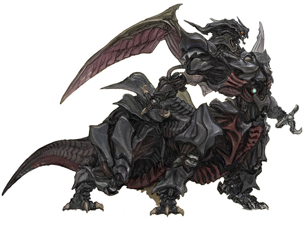 Final Fantasy 14 Ultima Weapon Art