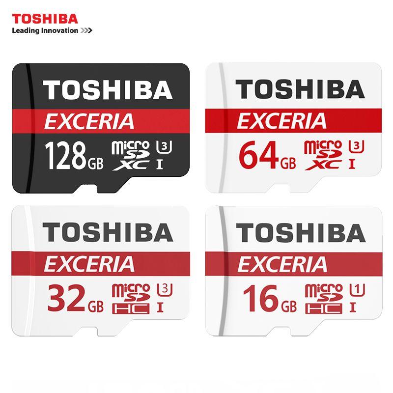 Sd Karte.Toshiba Speicherkarte 128 Gb 64 Gb 32 Gb Uhs 3 Max