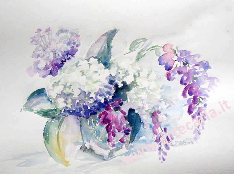 Risultati immagini per dipinti di natura ad acquerello for Dipinti ad olio fiori
