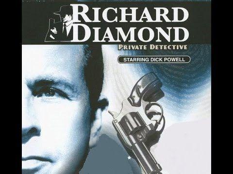 "Richard Diamond, Private Detective - ""The Eight O'Clock Killer"" - Old Ti..."