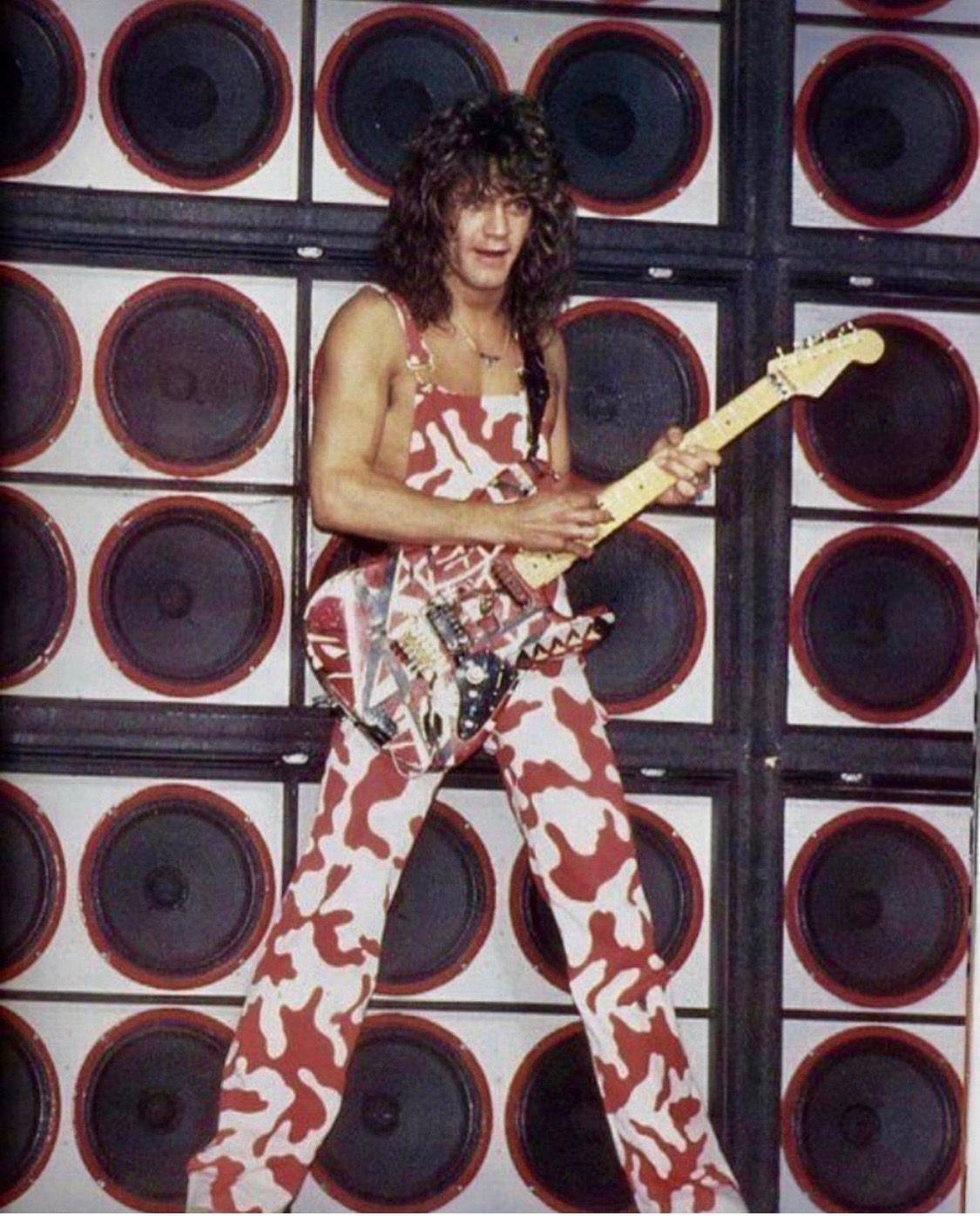 Evh 82 Eddie Van Halen Van Halen Greatest Rock Bands