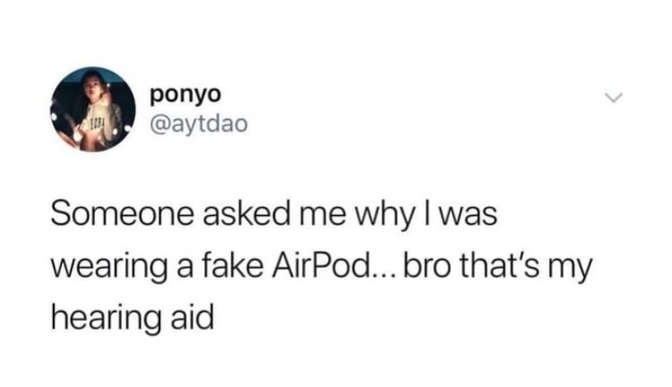 Today S 25 Most Hilarious Memes Air Pods Read It Most Hilarious Memes Funny Pictures For Kids Funny People