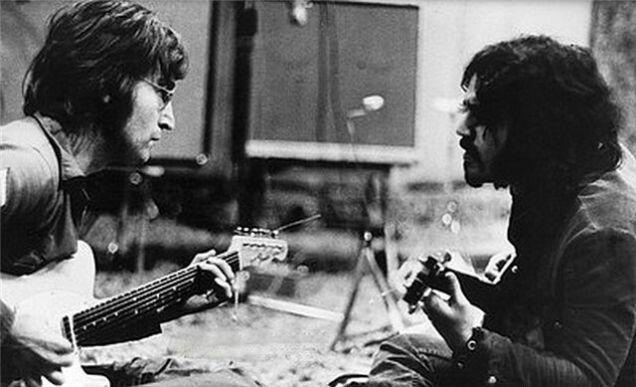 John Lennon and Wayne u0027Texu0027 Gabriel knowledge \ history - vinylboden f r k che
