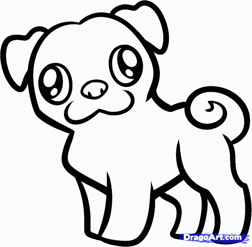 26++ Cute animals coloring pages easy info