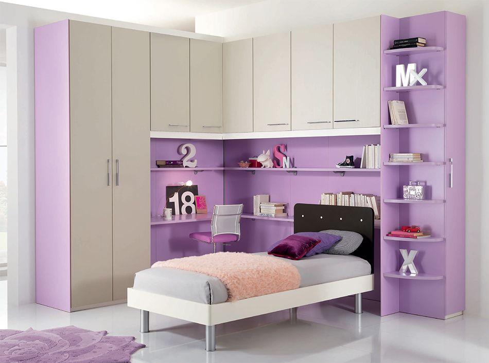 Camerette A Ponte Spar.Modern Kids Corner Bedroom Set Web 58 By Spar Lakas