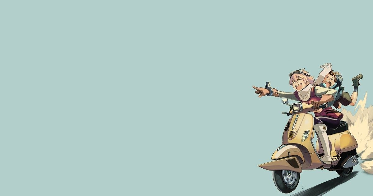 Fantastis 30 Gambar Kartun Vespa Wallpaper Illustration Anime