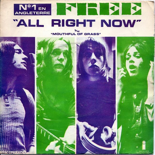 Free All Right Now Ep Front Rock Album Covers Classic