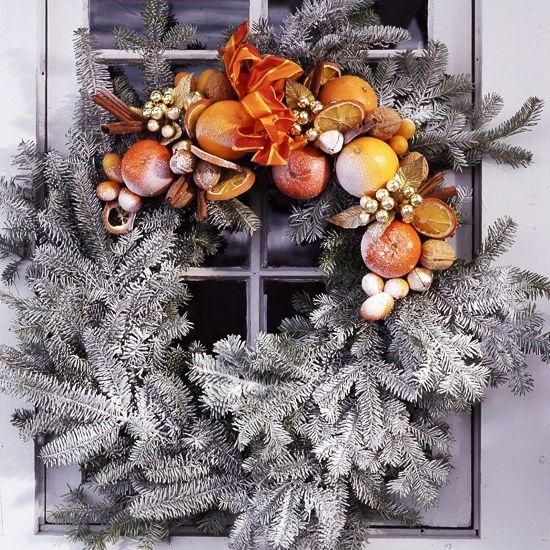 winter christmas wreaths