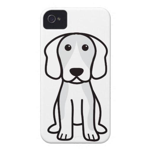 Beagle Dog Cartoon Case-Mate iPhone 4 Cases