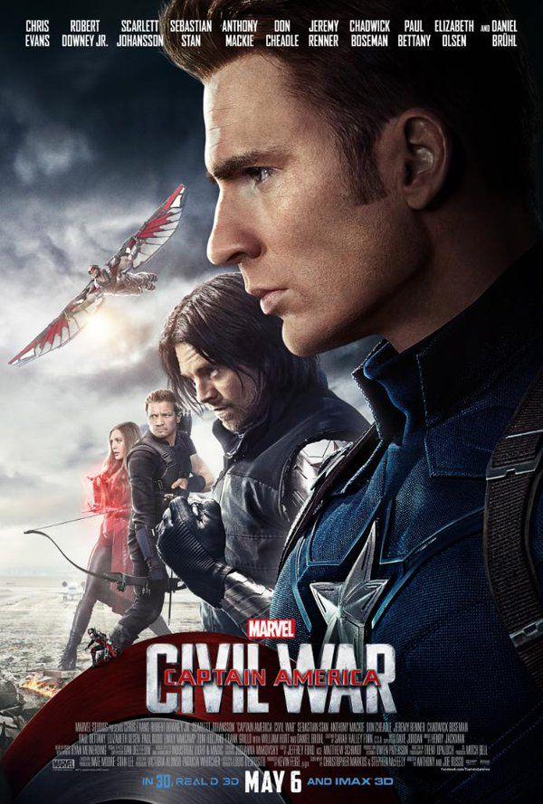 Captain America Et Le Soldat De L'hiver : captain, america, soldat, l'hiver, Twitter, Affiche, Film,, Captain, America,, Héros, Marvel