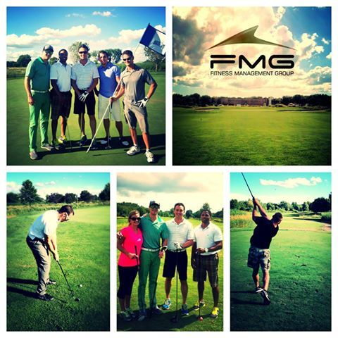 The Fmg Team Had A Great Time At The Company Golf Outing Last Friday Thank You Everyone Who Showed Up Golf Outing Soccer Field Fitness