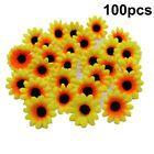 100Pcs Multicolor Mini Artificial Daisy Flowers Heads Flower For DIY Wreath #Wedding Supplies #flowerheadwreaths